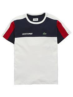 lacoste-sports-boys-short-sleeve-colourblock-t-shirt