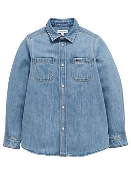 lacoste-boys-long-sleeve-denim-shirt