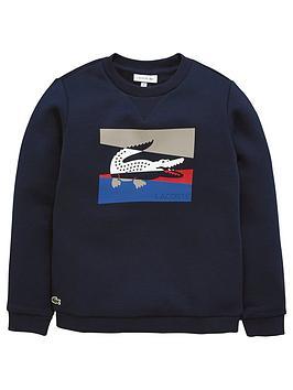 lacoste-boys-colourblock-croc-sweat-top