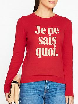 whistles-je-ne-sais-quoi-jumper-red