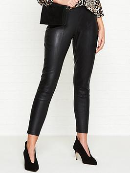 whistles-leather-skinnynbspstretch-trousers-black