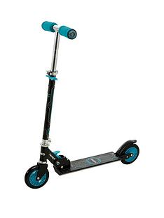 Wired Folding In Line Scooter - Teal