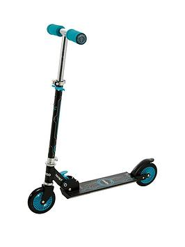 Wired Folding In-Line Scooter &Ndash; Teal