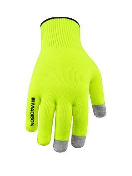 madison-isoler-merino-cycle-gloves-hi-viz-yellow