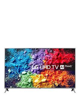 Lg Lg 65Uk6500Pla 65 Inch, Ultra Hd, 4K Hdr, Freeview Play, Smart, Tv - Steel Silver &Amp; Black