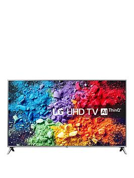 Lg Lg 55Uk6500Pla 55 Inch, Ultra Hd, 4K Hdr, Freeview Play, Smart, Tv - Steel Silver &Amp; Black