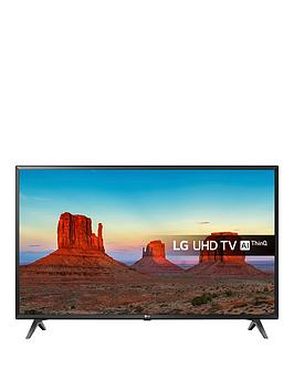 Lg 43Uk6300Plb 43 Inch Ultra Hd, 4K Hdr, Freeview Play, Smart, Led Tv - Black