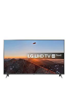 Lg Lg 55Sk8000Plb, 55 Inch, Super Uhd Nano Cell, 4K Hdr, Freeview Play, Smart, Tv With Dolby Atmos - Brilliant Titan