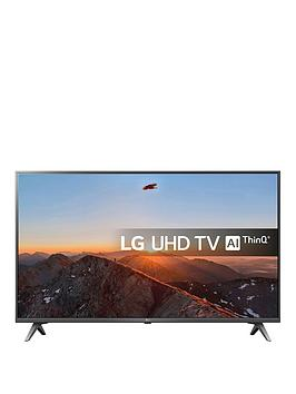 Lg Lg 49Sk8000Plb, 49 Inch, Super Uhd Nano Cell, 4K Hdr, Freeview Play, Smart, Tv With Dolby Atmos - Brilliant Titan