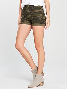 v-by-very-camo-short