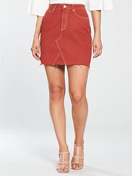 V By Very A-Line Skirt - Rust