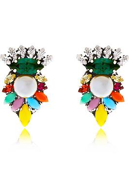 anton-heunis-multicolour-pearlnbspswarovski-earrings--nbspmulti