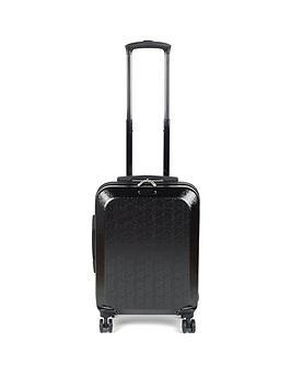 Constellation Cabin Mosaic Suitcase - Black