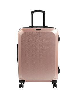 Constellation Large Mosaic Suitcase - Rose Gold