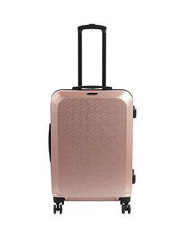 Constellation Mosaic Cabin 4 Wheel Suitcase - Rose Gold
