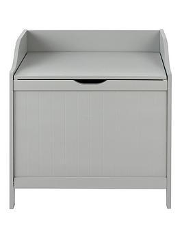 lloyd-pascal-portland-laundry-hamper-grey