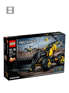 LEGO Technic 42081 Volvo Concept Wheel Loader ZEUX Vehicle