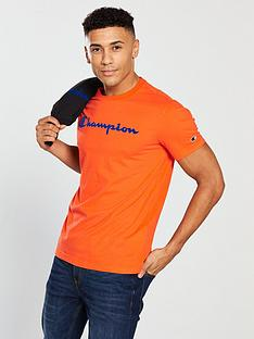 champion-t-shirt-ndash-orange