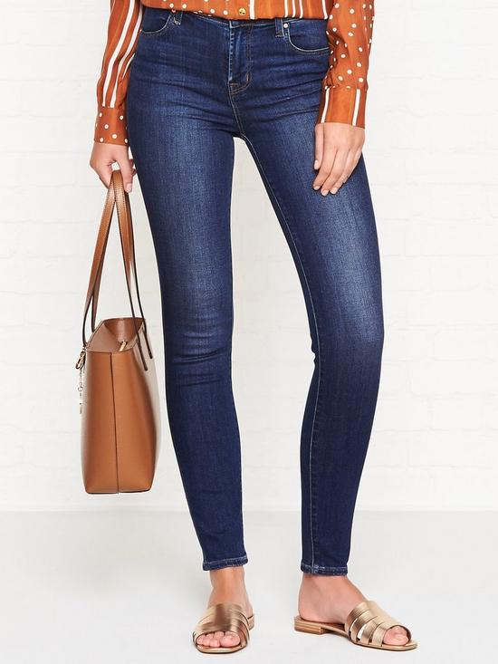 45fa54fb0e7146 J BRAND Maria High Rise Skinny Jeans - Fleeting | very.co.uk