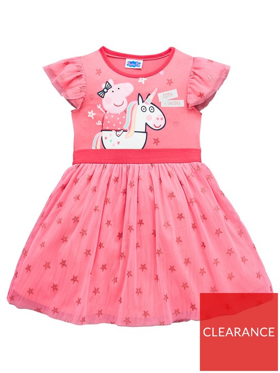 25f6c73cf23bf Peppa Pig Party Dress | very.co.uk
