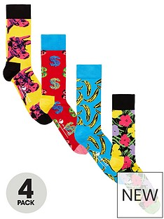 happy-socks-happy-socks-4pk-andy-warhol-socks