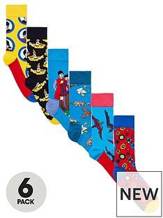 happy-socks-happy-socks-6pk-the-beatles-socks