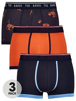 ted-baker-3pk-patternplain-trunk