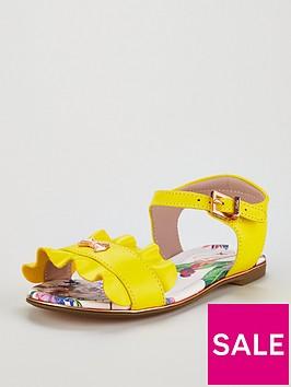 baker-by-ted-baker-toddler-girls-frill-sandal-yellow
