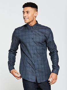 hugo-check-longsleeve-shirt