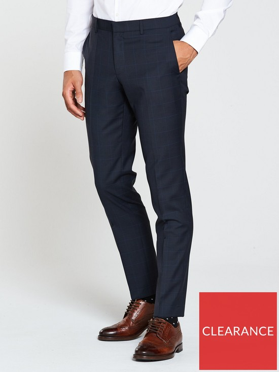 e1244c15b HUGO Pow Slim Fit Suit Trouser | very.co.uk