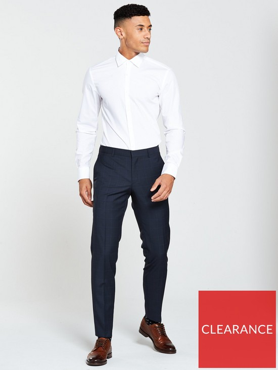 cef9ce273 ... HUGO Pow Slim Fit Suit Trouser. View larger