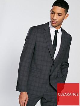 hugo-tonal-check-suit-jacket