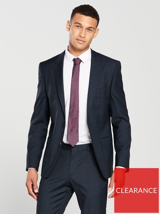 a8e041323 HUGO Pow Slim Fit Suit Jacket | very.co.uk