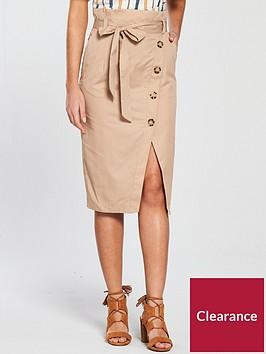 river-island-paperbag-waist-skirt-beige