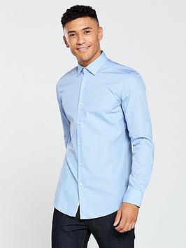 Hugo Plain Longsleeve Shirt thumbnail