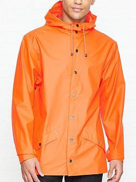 rains-hooded-waterproof-rain-jacketnbsp--orange