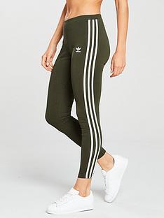 adidas-originals-3-stripe-tight-khakinbsp