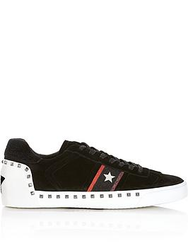 ash-neonbspstudded-suede-star-trainers-black