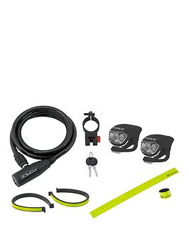 force-cycle-coil-cable-lock-reflective-accessories