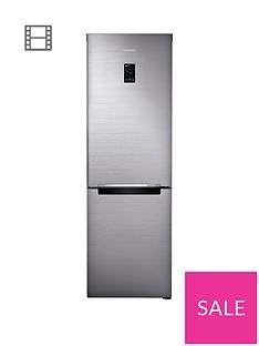 Samsung RB33N321NSS/EU 60cmWide, No Frost Fridge Freezer with Digital Inverter Technology - Silver