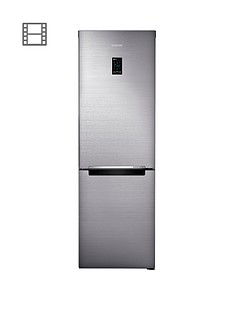 Samsung RB33N321NSS/EU 60cm Wide, No Frost Fridge Freezer with Digital Inverter Technology - Silver