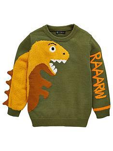 mini-v-by-very-raaarw-3d-dinosaur-knitted-jumper