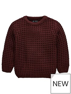mini-v-by-very-chunk-knit-jumper