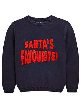 mini-v-by-very-santas-favourite-knitted-christmas-jumper