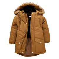 Faux Fur Lined Parker With Faux Fur Trim Hood by Mini V By Very