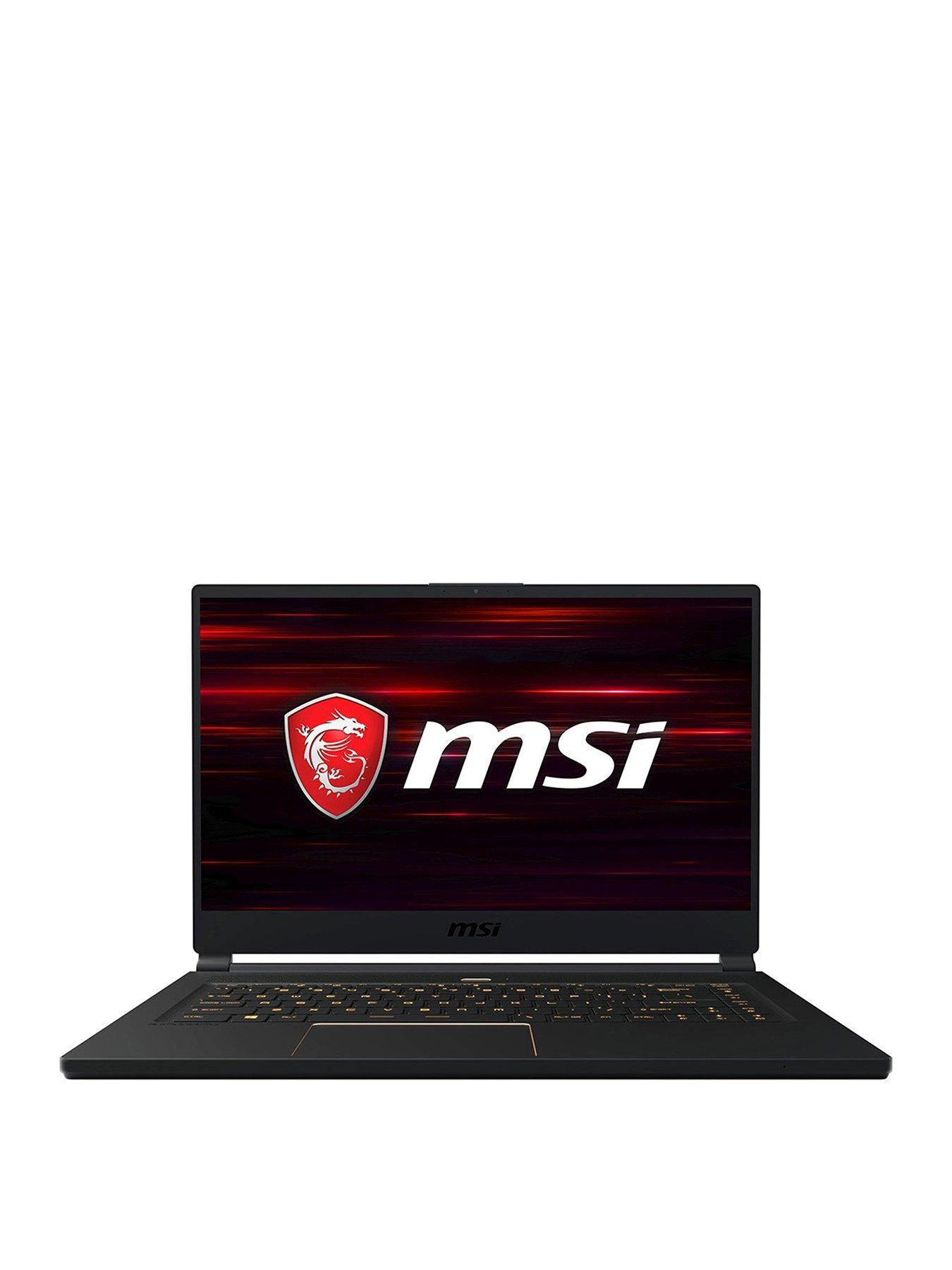 MSI GS65 Stealth 8RE-214UK Intel Core i7, 16Gb RAM, 256Gb SSD, 15.6 inch FHD, VR-Ready Gaming Laptop with GeForce GTX 1060 6Gb Graphics + Call of Duty Black Ops 4