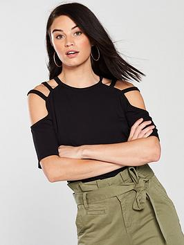 v-by-very-cut-out-strap-t-shirt-black