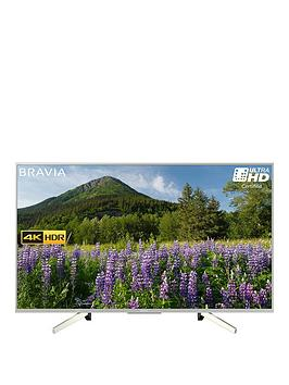 Sony Kd43Xf7073 43 Inch, 4K Hdr Ultra Hd, Smart Tv With Freeview Play - Silver thumbnail