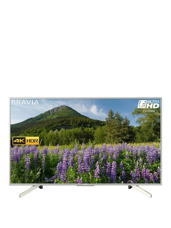 KD55XF7073 55 inch, 4K HDR Ultra HD, Smart TV with Freeview Play - Silver