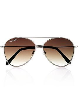 thomas-james-james-aviator-sunglasses-brown